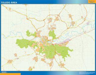 Wegenkaart Toledo Spanje Kaarten Voor Nederland Netmaps Nl